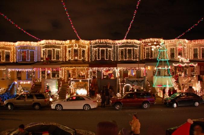 34 street lights