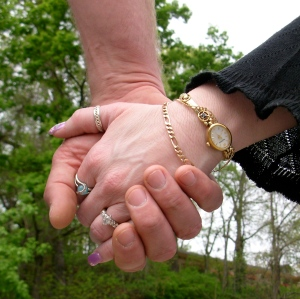 holding hands 1