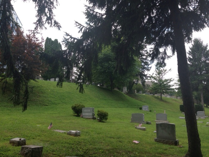 Where I'm Writing: Prospect HillCemetery